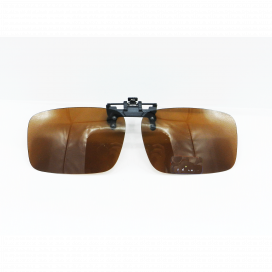 Attechment Square Sun Glasses Attech Frame Brown Lens - Attechment/N.O