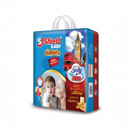 Shield Baby Diapers Mega Large 54s
