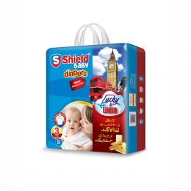 Shield Baby Diapers Mega Small 62s