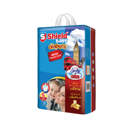 Shield Baby Diapers Mega Bacht Extra 46s