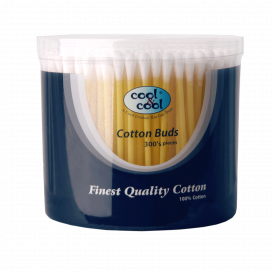 Cool & Cool Cotton Buds Box 300s C1777