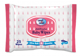 Cool & Cool Baby Wipes 25s B2062