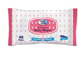 Cool & Cool Baby Wipes 40s B2382