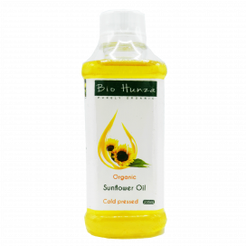 Bio Hunza Organic Sunflower Oil 235ml