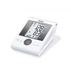 Beurer Upper Arm Blood Pressure Monitor with Adapter BM 28