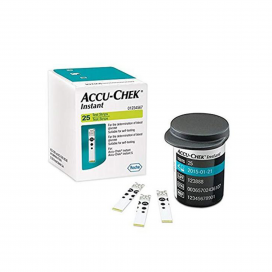 Accucheck Instant Strips (Pack of 25)