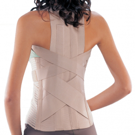 Conwell Spinal Brace With Back Pad Small