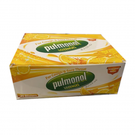Pulmonol Lozenges Honey And Lemon 120s