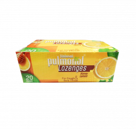 Pulmonol Honey Lemon lozenges 20x6s