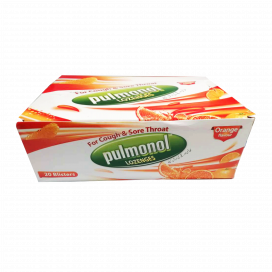 Pulmonol Orange lozenges 20x6s