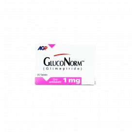 Gluconorm Tab 1mg 20s