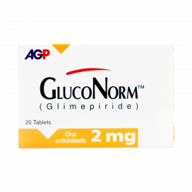 Gluconorm Tablet 2mg 20s