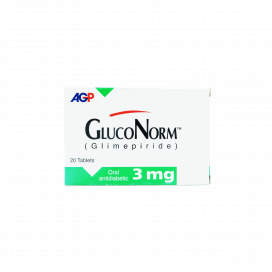 Gluconorm Tab 3mg 20s