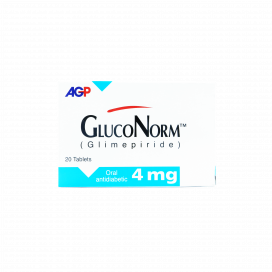 Gluconorm Tab 4mg 20s