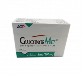 Gluconormet Tablet 2mg/500mg 30s