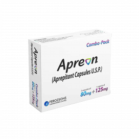 Apreon Cap Combo Pack  80mg/125mg  2+1 Pack