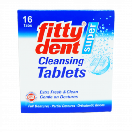 Fittydent Super Cleansing Tab 16s
