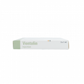 Ventolin Injection 0.5mg 5Ampx1ml